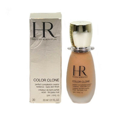 Helena Rubinstein Color Clone 30 Gold Cognac Fluid Foundation 30ml Damaged Box