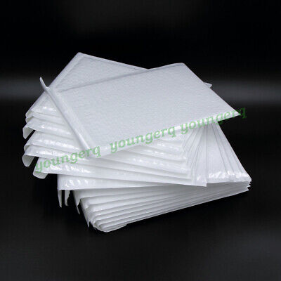 Poly Bubble Mailers Padded Envelopes Mailer 3x4 3x5 4x6 4x8 5x6 5x7 6x9 10 Size