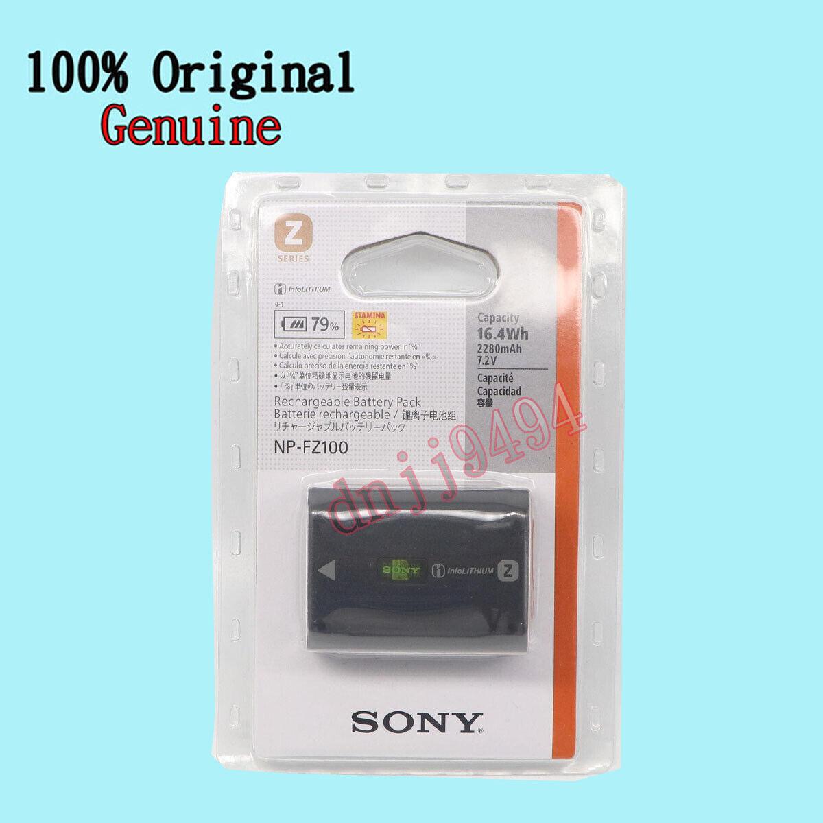Sony original np-fz100 batería para Alpha 9//7r III//7iii artículo nuevo a9 a 7 RIII