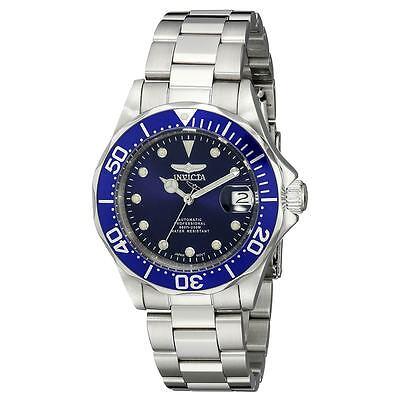 Invicta 17040 Gent's Blue Dial Steel Bracelet Automatic Watch