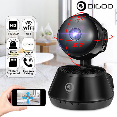 Digoo 960P WiFi IP Camera Baby Monitor Smart Home Security IR Night Vision Onvif