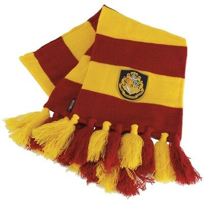 Gryffindor BOOK COLORS Striped Scarf Harry Potter Hermione Halloween - Harry Potter Halloween Scarf
