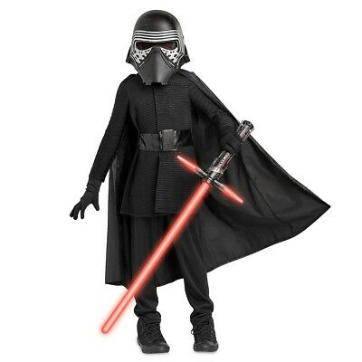 Star Wars Kylo Ren Costume For Kids The Last Jedi Disney 11/12 - War Costumes For Kids