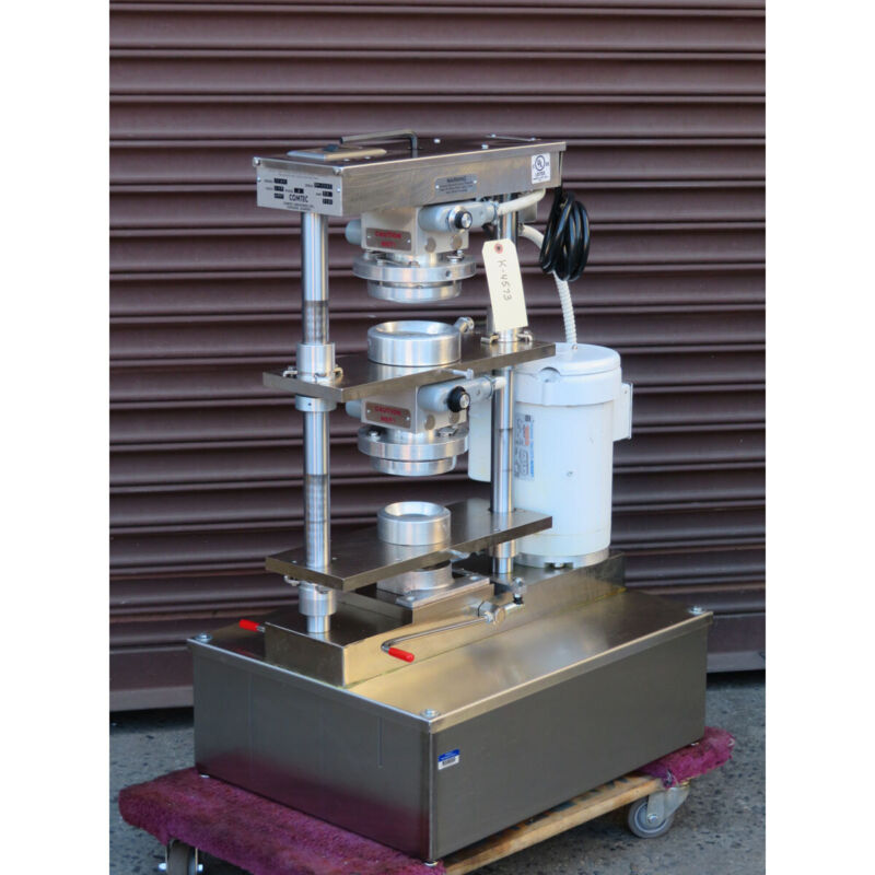 Comtec 2200 Pie and Pastry Crust Forming Press, Used Great Condition