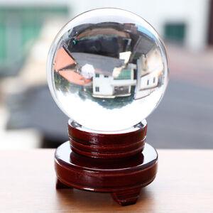 Quartz Clear Crystal glass Healing Ball Sphere 100mm Balance Inspiration Family