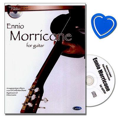 Ennio Morricone for Guitar - Gitarre Noten mit CD - ML2917 - 9788850715176
