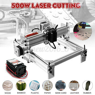 Dc 12v 500mw Diy Mini Laser Engraving Cutting Machine Desktop Printer Kit
