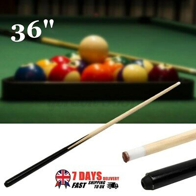 36 Inch Wood Jointed Pool Cue Snooker Stick Billiards Sport Game Children Kid U