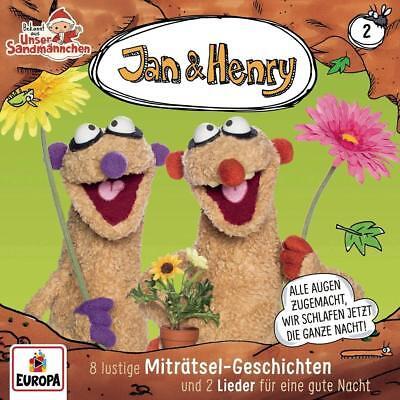 CD * JAN & HENRY- HSP 02 - 8 LUSTIGE MITRÄTSEL-GESCHICHTEN UND 2 # NEU OVP =