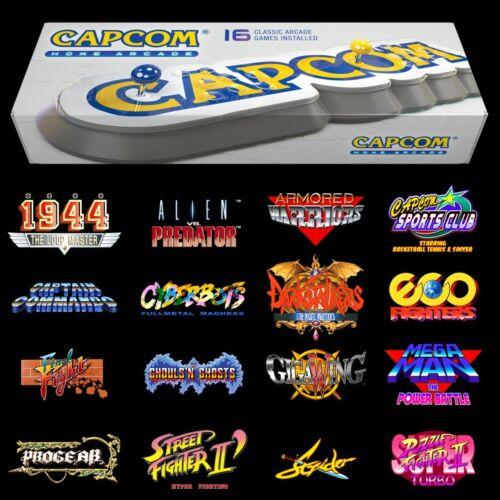 Capcom Home Arcade Stick HDMI Console official