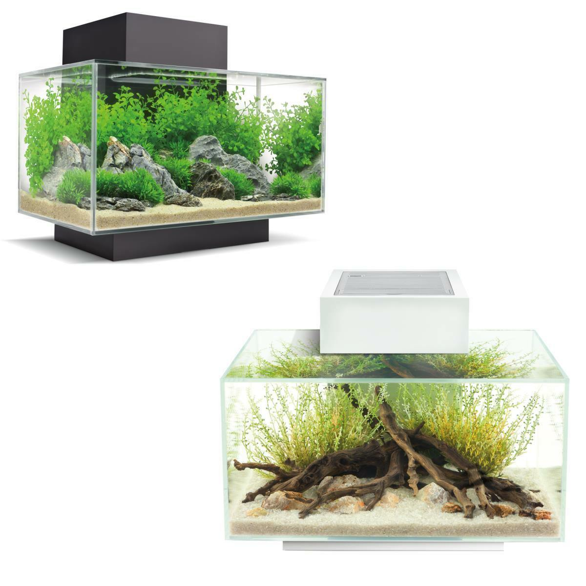 Aquarium Fluval Edge 2.0 - Tisch-Aquarium 23 Liter mit LED-Beleuchtungssystem