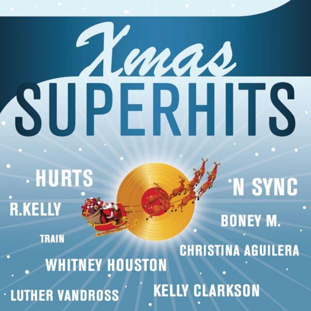 XMAS SUPERHITS - WHAM!, CHRIS BROWN, LEONA LEWIS, R. KELLY, NSYNC  CD NEU