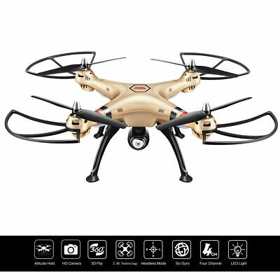 Syma X8HC 2.4G 4CH 6-Axis Gyro RC Quadcopter Drone 2MP HD Camera Christmas Gift
