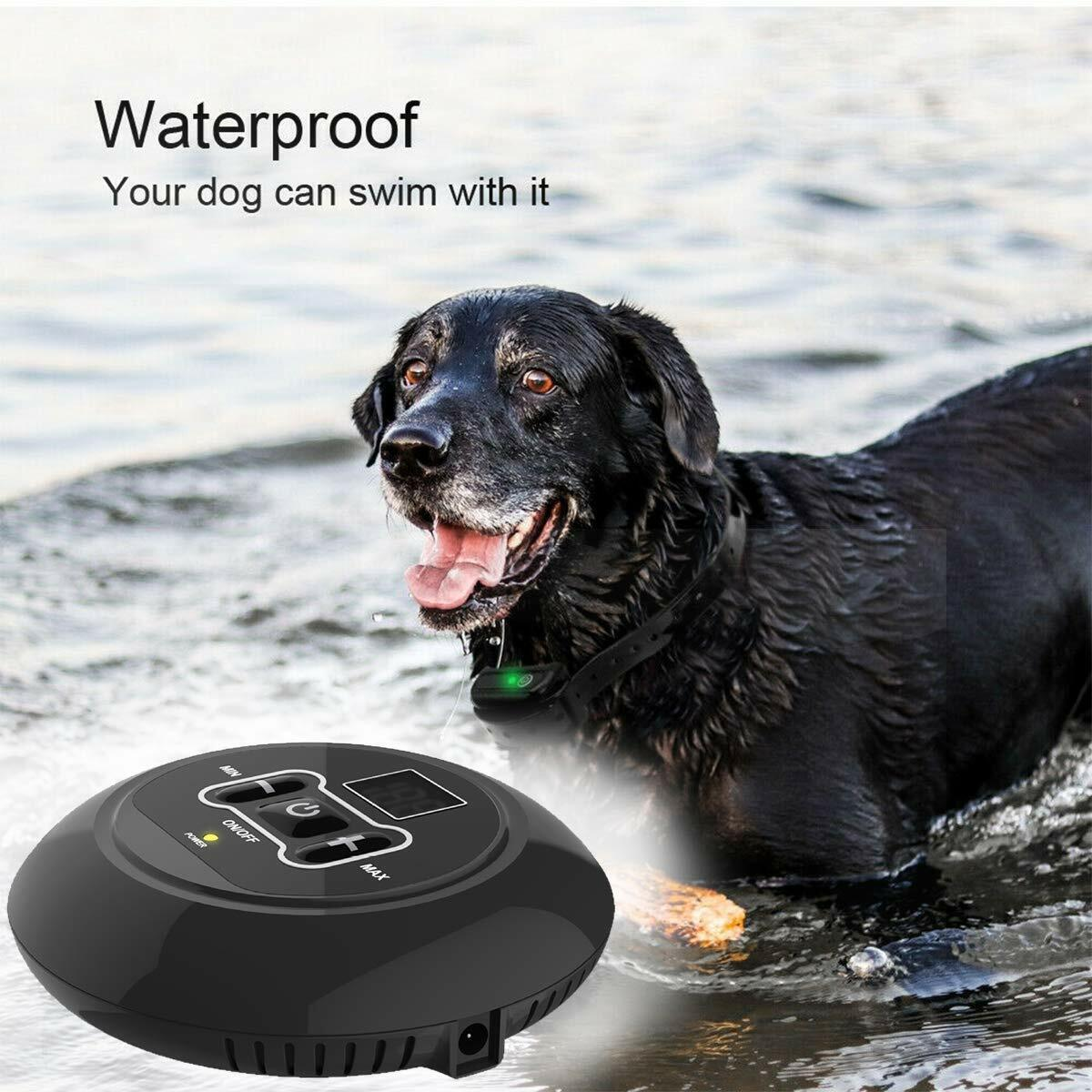 Wireless Electric Dog Fence Pet Containment System Shock Collars For 1/2/3 Dogs Dog Supplies