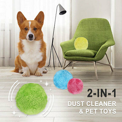 Dog Fetch  Magic Roller Ball Automatic Cat Pet  Amusing Funny Electric