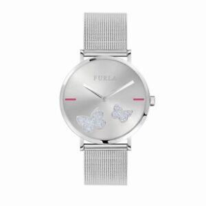 Furla Women's R4253113503 Giada Butterfly Stainless Steel Wristwatch