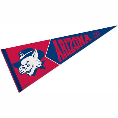 University of Arizona Vault, Retro and Vintage Logo Pennant - University Of Arizona Logo
