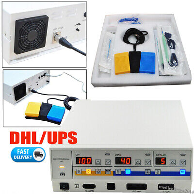 Electrosurgery Electrosurgical Electrotome Unit Cautery Surgical Surgery Machine