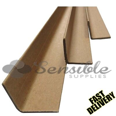 50 X 1.5M STRONG CARDBOARD EDGE GUARDS PALLET PROTECTOR 35mm L SHAPE