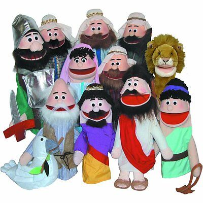 Get Ready Kids Puppet Partners 394 Puppet Ministry Set New