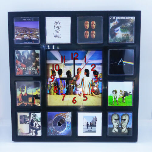 Pink Floyd Rock Band Wall Clock