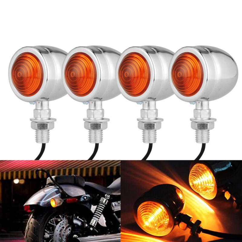 2PCS Universal Motorcycle 40 LED Turn Signal Indicators Light Lamp Amber LED 12V