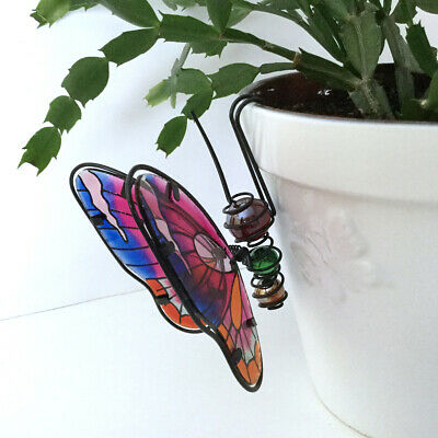 Glass Butterfly Pot Sitter 5