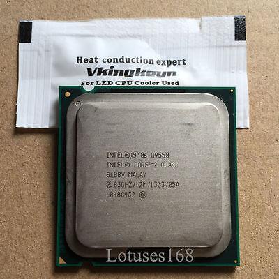 SIntel Core 2 Quad Q9550 2.83 GHz 12M 1333 Quad Core Procesador LGA775 CPU