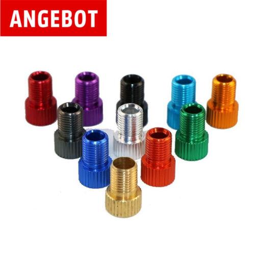 AV 2 Stück Ventil-Adapter  Auto- Fahrrad Pumpe auf Dunlop- Blitzventil DV