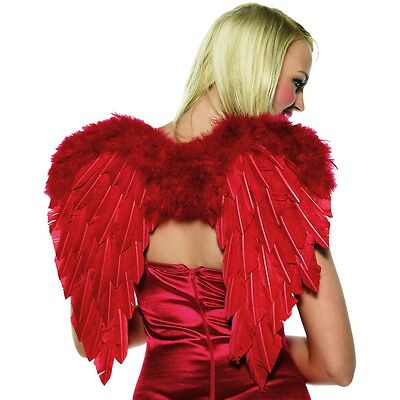Cupid Costume Kit Red Wings Bow & Arrow Valentine's Day Halloween Fancy Dress](Cupid Halloween Costume)