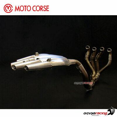 Full exhaust system Motocorse titanium
