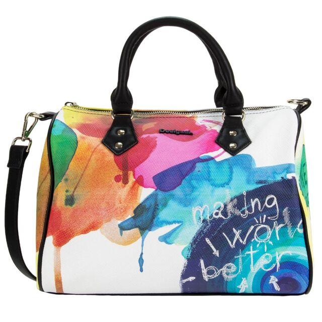 DESIGUAL Handtasche Schultertasche Bag BOLS BOWLING STROKER 61X50B1/1000