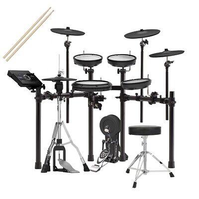 Roland TD-17KVX V-Drums Electronic Drum Set DRUM ESSENTIALS BUNDLE