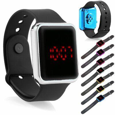 Womens Unisex Watch - Silicone LED Men Womens Sport Watch Digital Bracelet Wrist Watches Unisex