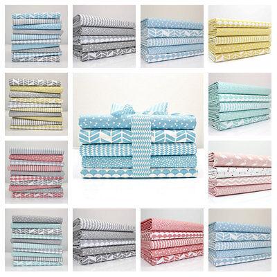 PURE COLLECTION FAT QUARTER BUNDLES - pastel modern100% cotton fabric - arrows .