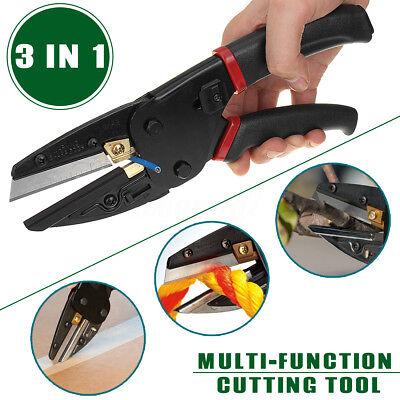Us Multi Cut 3 In 1 Pliers Power Cut Cutter W Built-in Wire Rope Cutting Tool