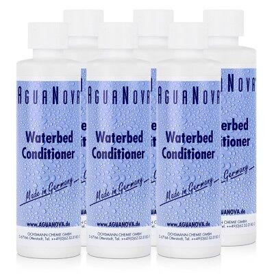 6x AguaNova Wasserbett Conditioner 250 ml, für Wasserbetten - Konditionierer