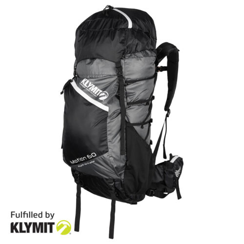 Klymit Motion 60 Backpack Lightweight Camping Backpacking- Factory Refurbished