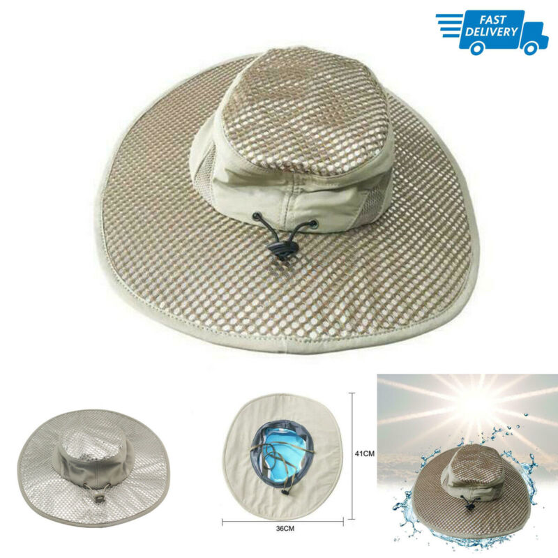 Hydro Cooling Hat Sunscreen Ice Cap Adjustable UV Protection High Quality