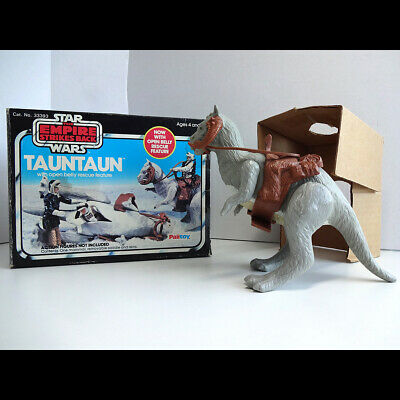 Vintage Palitoy Star Wars Open Belly Tauntaun Complete Original Box & Insert