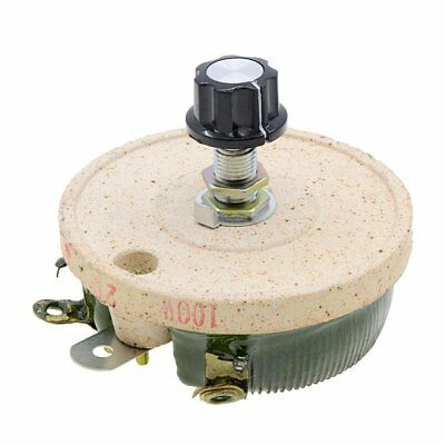 Ceramic Rheostat 100w 20 Ohm Potentiometer Variable Taper Pot Wirewound Rotary