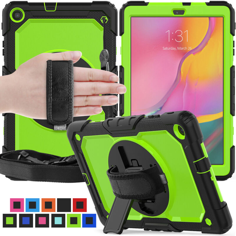 """For Samsung Galaxy Tab A 8.0"""" 10.1"""" 2019 Tablet Hard Shockproof Stand Case Cover"""