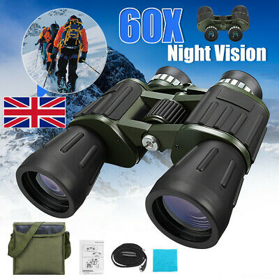 Day/Night 60x50 Military Army Zoom Binoculars Optics Hunting Camping