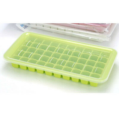 Ice Cube Tray With Lld Ice Mold Square 50 Cubes Made In KOREA