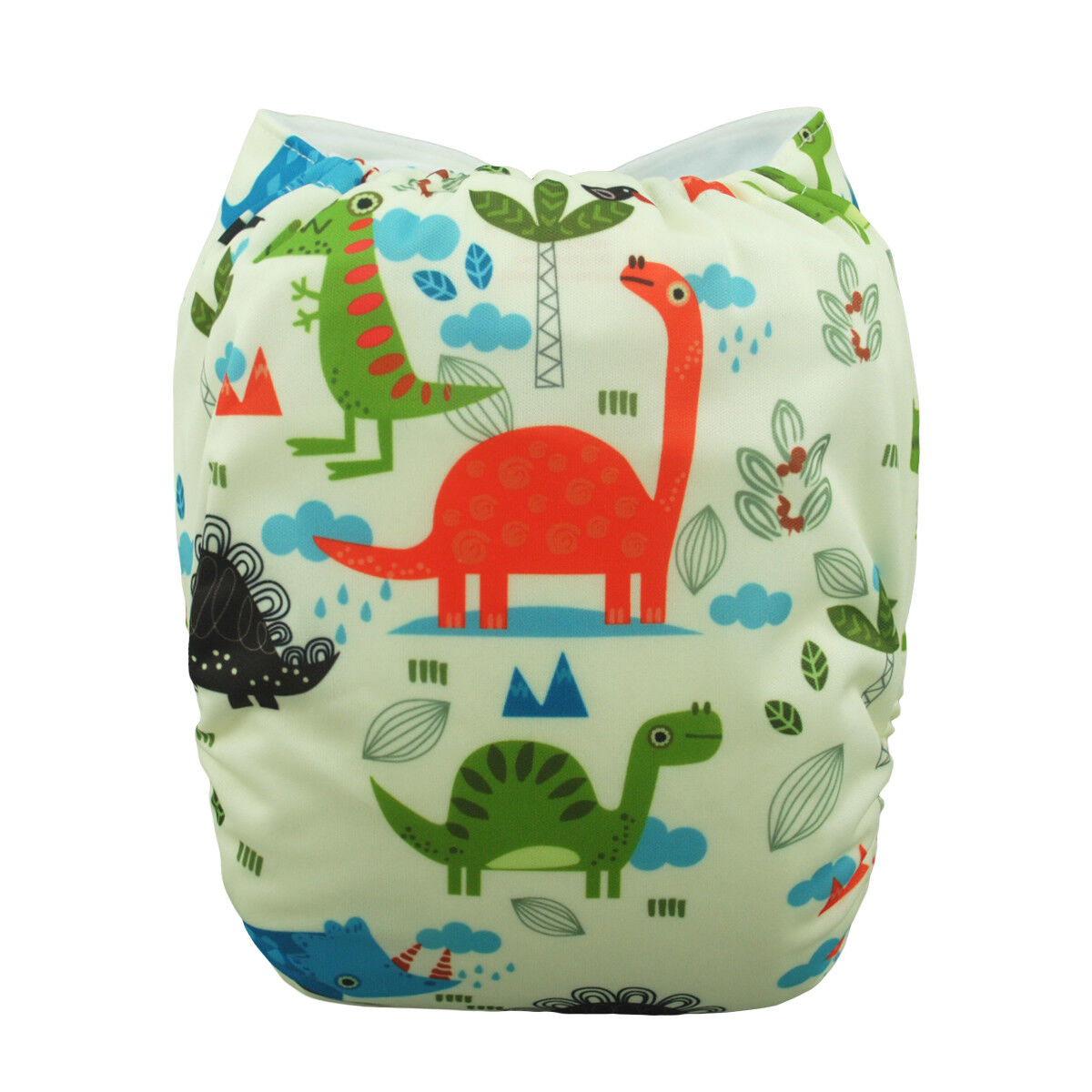 ALVABABY Reusable Baby Cloth Diapers OneSize Washable Pocket Nappies With Insert YD83