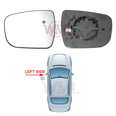 Right Driver side wing mirror glass for Nissan X-trail 2014-2019 heated