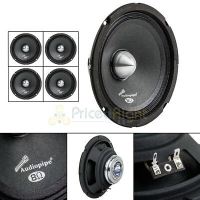 "4 Audiopipe APMB-611DR 6.5"" 250W Low Mid Frequency Loudspeakers Neodynium Magnet"