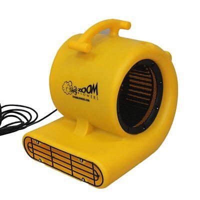 Zoom 12 Hp Floor Carpet Dryer Fan Water Damage Janitorial Industrial Air Blower
