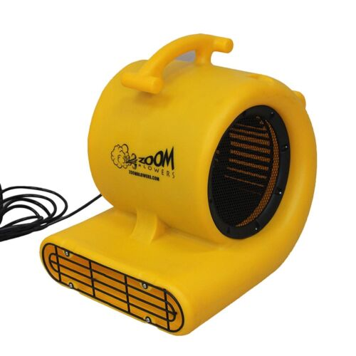Zoom 1/2 Hp Centrifugal Air Mover Carpet Dryer Blower 3 Speed Floor Drying Fan