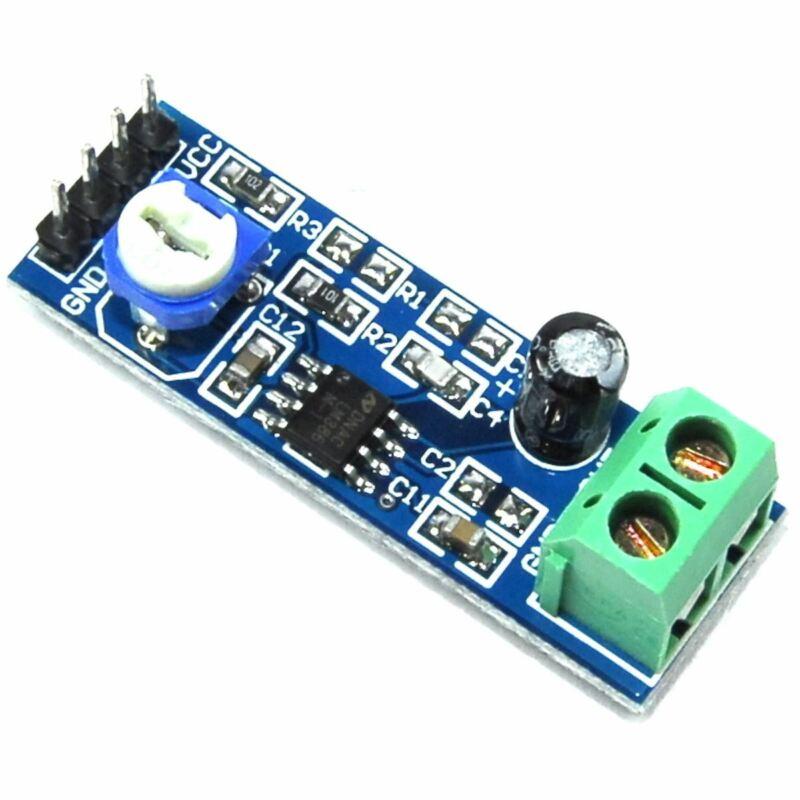 3pcs LC Technology LM386 20x Gain Amplifier Module AP-386-20 Flux Workshop